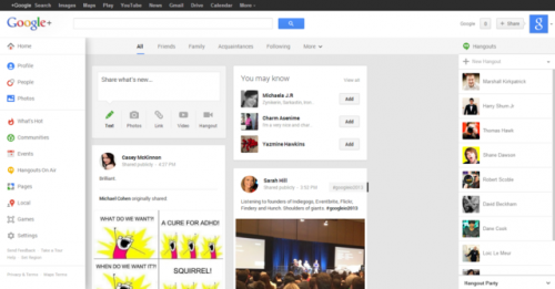 Google Plus entra in GMail: Big G sincronizza le informazioni
